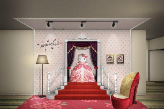 """The Keio Plaza Hotel Tama hadirkan lokasi foto baru bernuansa """"Hello Kitty"""" dan kamar bertema karakter Sanrio"""