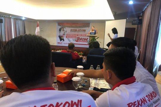 Relawan Rekan Jokowi Sumut deklarasikan dukungan kepada Jokowi-Ma'ruf