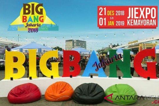Big Bang Jakarta meriahkan Tahun Baru 2019