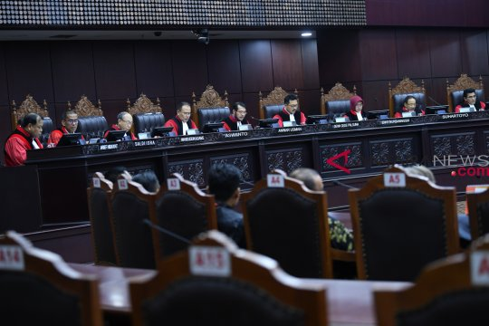 MK tegaskan pembatasan kampanye berlaku untuk semua partai