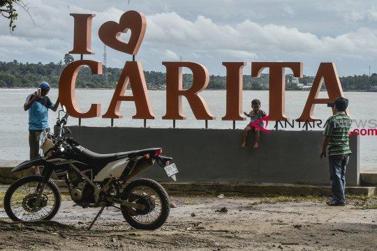 Kawasan Pantai Carita sepi pengunjung pasca-tsunami