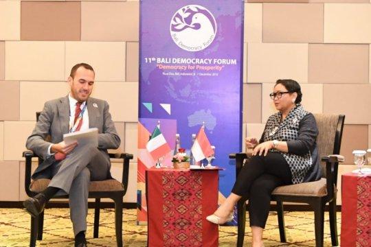 Indonesia-Italia tingkatkan kerja sama perdagangan dan investasi