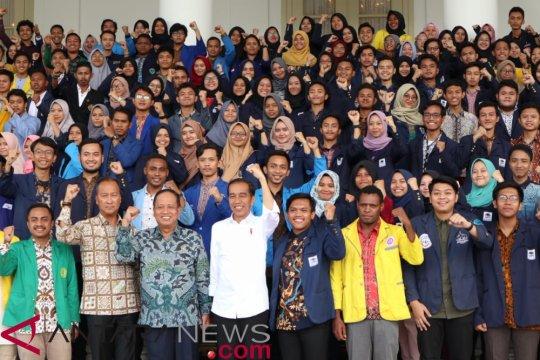Presiden harap mahasiswa demo dukung pemerintah