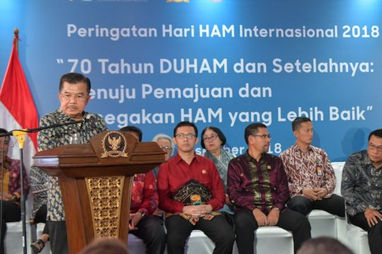 Wapres sebut elite Papua berperan atasi konflik