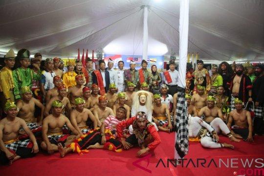 Prajurit TNI AL pentaskan Reog Ponorogo di Brunei