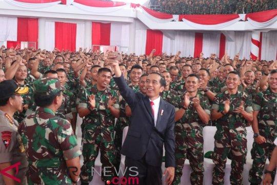 Presiden umumkan kenaikan tunjangan Babinsa