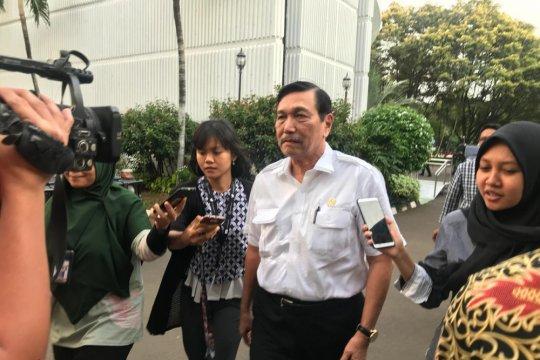 Luhut: Kehadiran Ma'ruf kampanye bisa dongkrak elektabilitas Jokowi