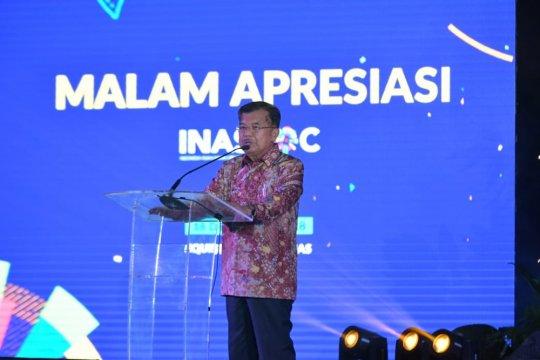 Wapres sebut tidak ada kritikan pelaksanaan Asian Games