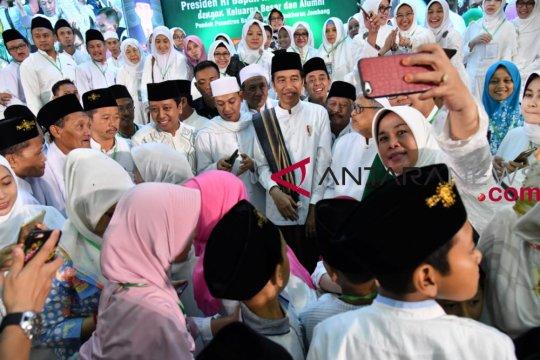 Doa seorang santri untuk Jokowi