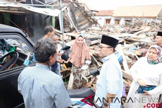 Korban tsunami Lampung Selatan dikunjungi Ketua MPR
