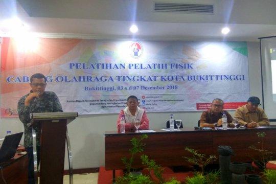 Kemenpora gelar Pelatihan Pelatih Fisik di Bukittinggi