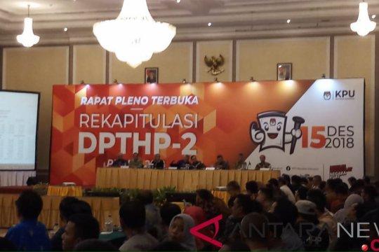 KPU tetapkan DPTHP-2 sebanyak 192 juta