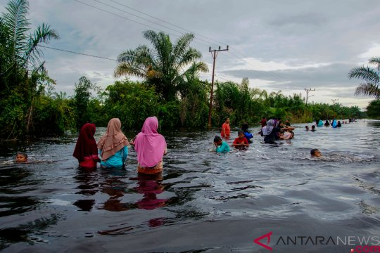 Pintu air PLTA Koto Panjang Riau diperlebar, BPBD antisipasi banjir