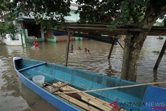 Empat desa di Kabupaten Cilacap tergenang banjir