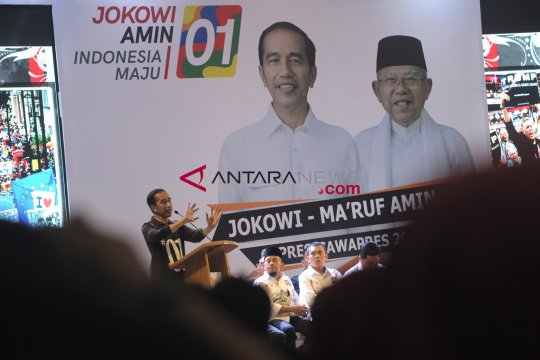 Jaringan Kyai Santri Nasional DKI deklarasi dukungan untuk Jokowi-Ma'ruf