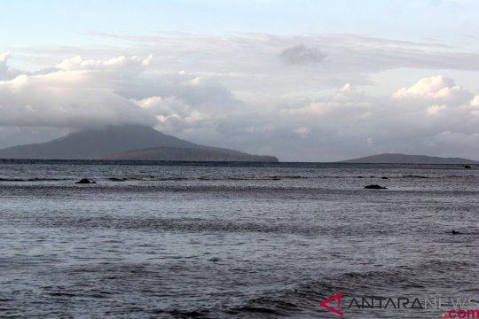 Gunung Anak Krakatau tidak lagi mengeluarkan suara dentuman