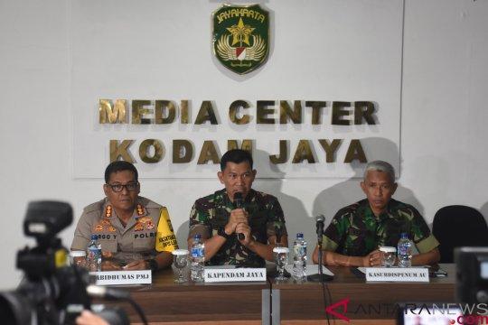 Konferensi Pers Kasus Penembakan Anggota TNI