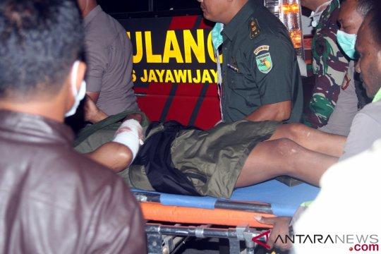 Anggota Brimob tertembak saat kontak senjata dengan KKSB