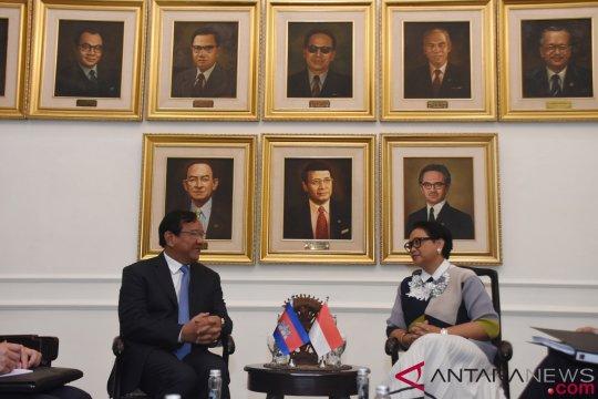 Indonesia-Kamboja sepakat perkuat persatuan sentralitas ASEAN