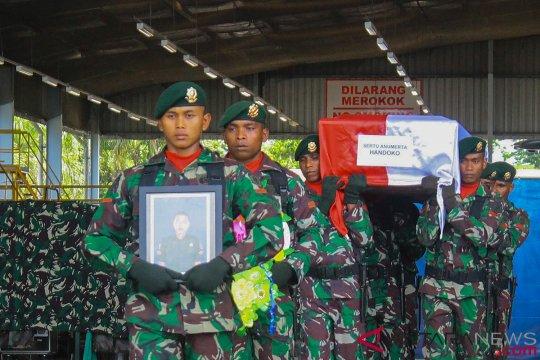 Kontak senjata di Yambi, seorang anggota TNI tewas