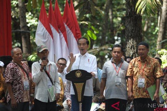 Penyerahan SK Perhutanan Sosial Di Jambi