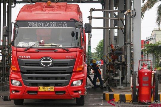 Pasca erupsi Krakatau, penyaluran BBM-LPG Lampung aman