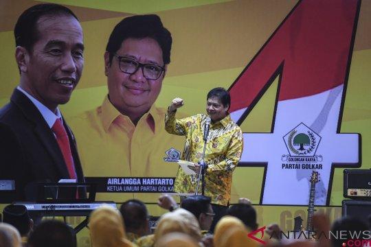 Airlangga Hartarto kumpulkan pengurus Golkar se-Sulawesi Selatan