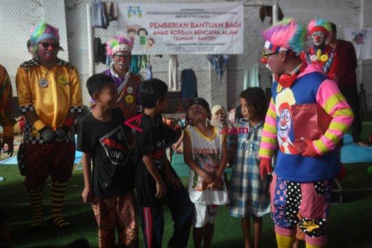 Anak penyintas bencana tsunami Lampung Selatan jalani terapi psikososial
