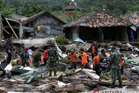 Presiden Moon Jae-in sampaikan belasungkawa bagi korban tsunami