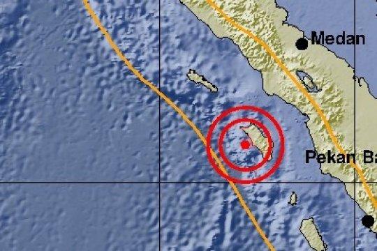 Belum ada laporan kerusakan karena gempa Nias 5,2 SR