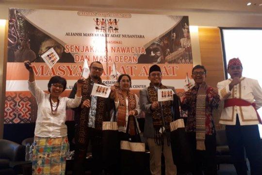 AMAN: pemenuhan hak masyarakat adat masih wacana