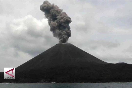 Erupsi Gunung Anak Krakatau tarik minat wisatawan