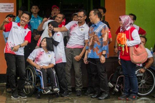 Peresmian sekolah khusus olahraga difabel Indonesia Page 1 Small