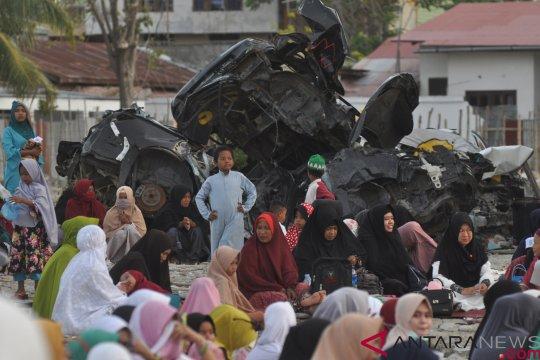 Ribuan warga korban likuifaksi Balaroa Palu tuntut keadilan