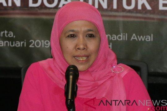 Khofifah: ibu JKSN bisa belajar dari ibunda Jokowi