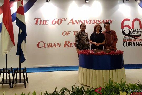 Perayaan 60 Tahun Revolusi Kuba kenang persahabatan Soekarno-Castro
