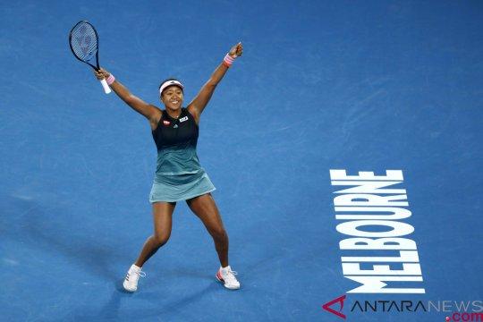 Naomi Osaka hentikan langkah Karolina Pliskova menuju final Turnamen Tenis Australia Terbuka 2019