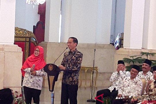 Presiden silaturahim dengan PGSI diskusi persoalan guru