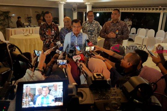 JK kenang kesalahan Hatta Rajasa saat debat Pilpres 2014