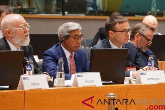 Indonesia kembali perjuangkan sawit pada Pertemuan ASEAN-Uni Eropa