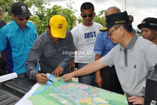 12 Perwakilan Kementerian Bahas Percepatan Kota Tanjung Selor
