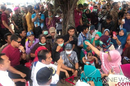 Presiden perintahkan pembangunan pemukiman untuk relokasi masyarakat pesisir Lampung Selatan