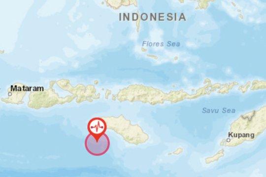 Dua gempa susulan pascagempa magnitudo 6,2 di Sumba Barat