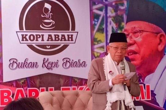 Ma'ruf Amin ajak masyarakat perkuat ekonomi umat