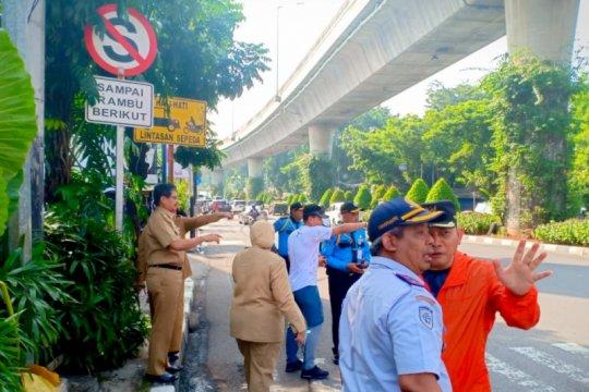 Wali Kota Jaksel tinjau lagi penutupan Jalan Prapanca Raya