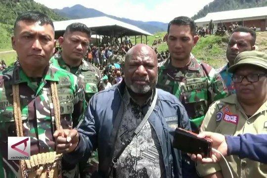 Pemprov Papua & TNI hilangkan trauma warga Mbua