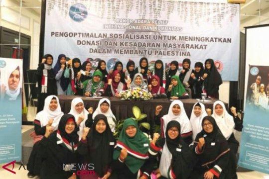 Masyarakat Indonesia diajak Adara Relief International dukung perjuangan perempuan Al-Quds