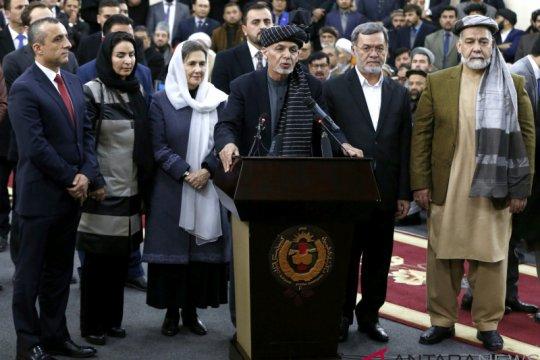 Pemungutan suara di Afghanistan gunakan mesin biometrik