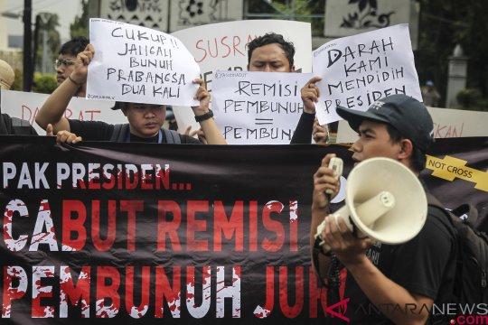 Pemerintah akan mendengarkan aspirasi soal remisi pembunuh wartawan