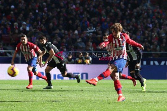 Liga Spanyol: Atletico Madrid menang tipis atas Levante